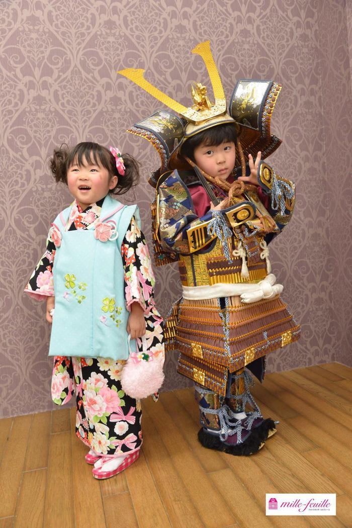 七五三3歳5歳◎兄弟でお祝い ☆浦和店☆