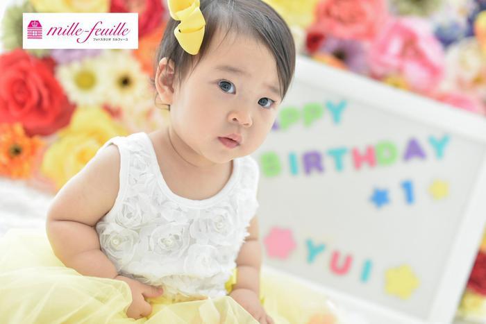 1歳☆バースデー撮影(⌒∇⌒)浦和店