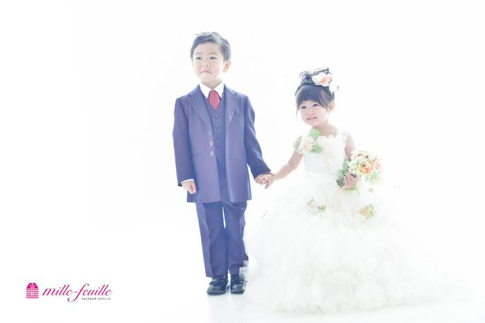七五三3歳5歳(^_-)-☆兄妹でお祝い ☆浦和店☆