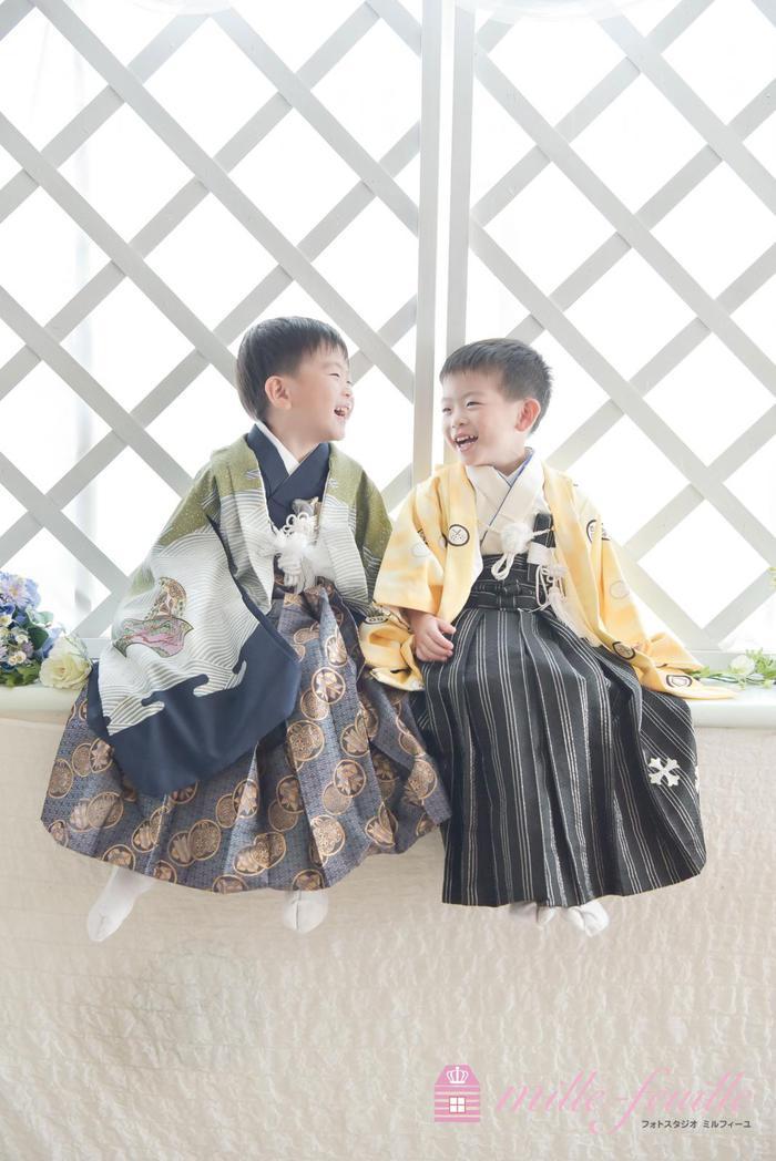 七五三5歳双子撮影 ☆上尾店☆
