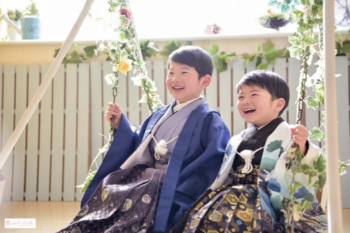 七五三5・3歳兄弟フォト☆上尾店☆