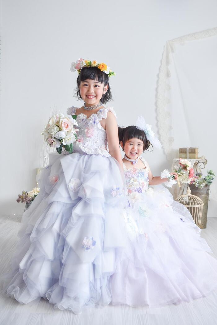 7歳3歳の七五三 洋装編 ☆上尾店☆彡