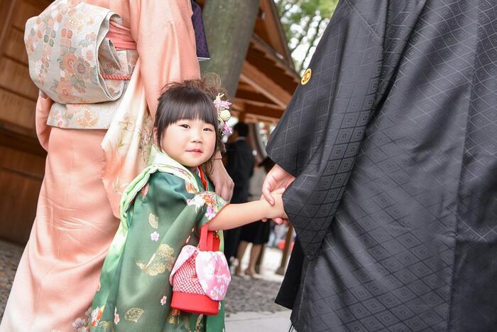七五三3歳 川越氷川神社で出張ロケーション撮影☆川越店☆