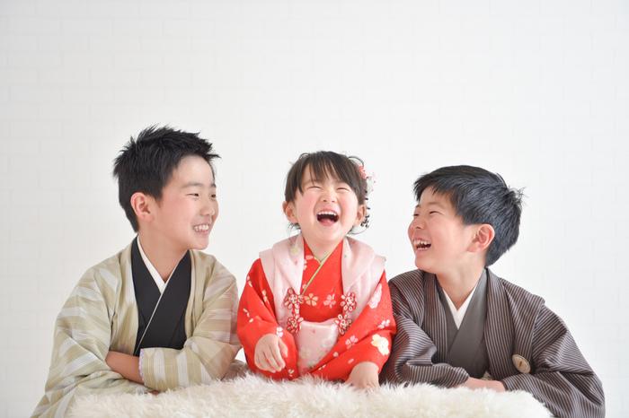 七五三3歳 スタジオ&ロケーション パパママ・兄弟 和装 撮影 ☆浦和店☆彡