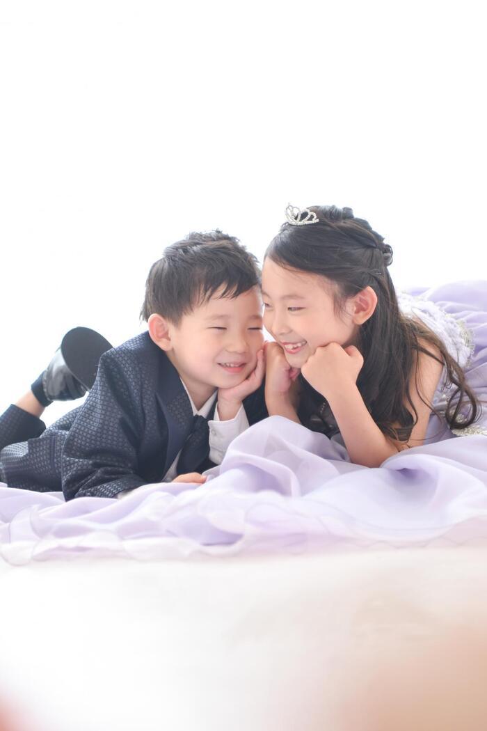 七五三 7歳(日本髪) 5歳 & パパママお着物 スタジオ&ロケーション撮影 ☆浦和店☆