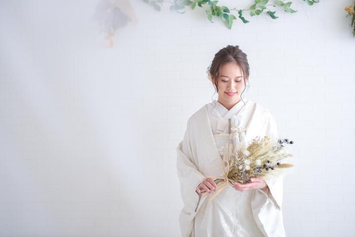 和装ウェディングフォト(色打掛&白無垢・紋付袴) スタジオプラン ☆浦和店☆彡