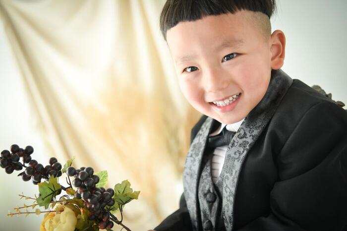 七五三3歳男の子フォト☆川越店☆