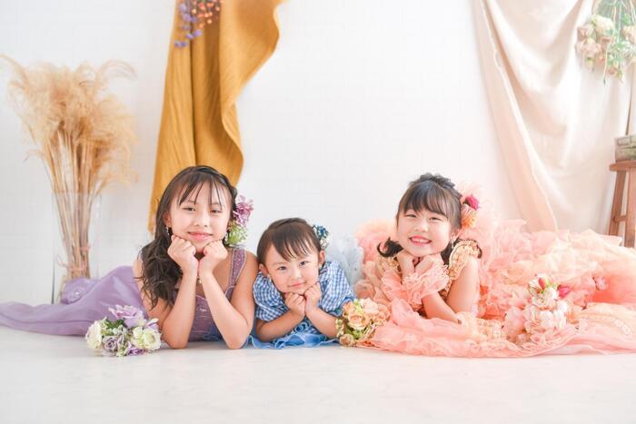 七五三3姉妹フォト☆彡浦和店