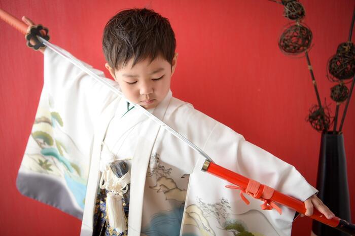七五三前撮り本シーズン入りました!!上尾店七五三5歳男の子特集♪
