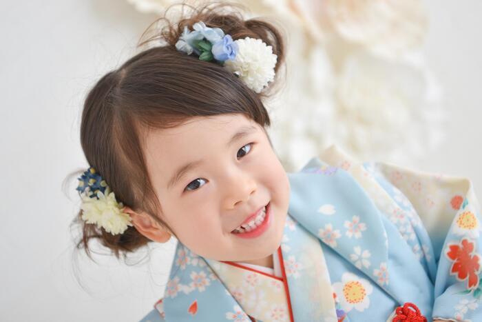 七五三3歳女の子ショット☆彡浦和店