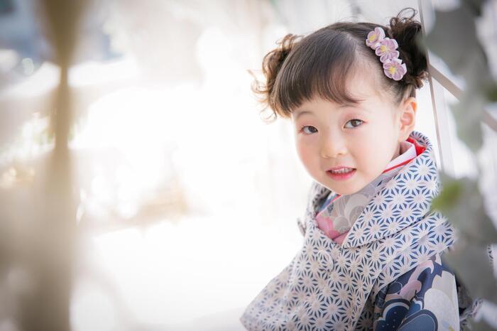 七五三3歳女の子 お着物ソロ編 ☆草加店☆彡